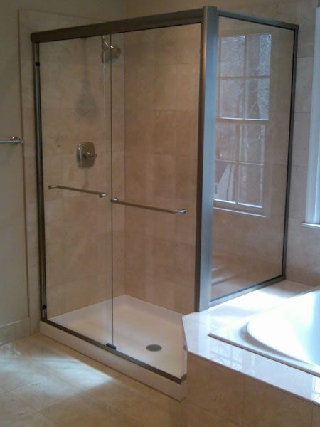 Maryland Shower Enclosures Semi Frameless Sliding Doors