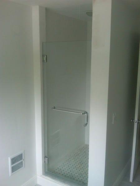 Maryland Shower Enclosures Frameless Inline Door And Panel