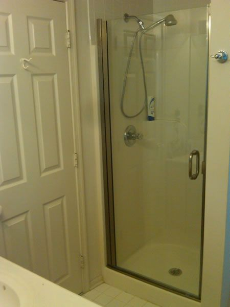 Maryland Shower Enclosures Semi Frameless Single Door